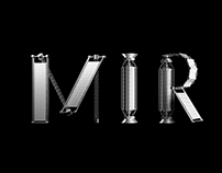 MIR Display Typeface