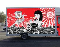 Graphiste pour Food Truck, logo et charte graphique