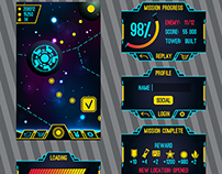 First game interface