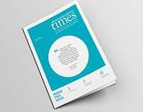 Editorial Design // Newsletter Redesign