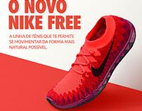 Nike Free Flyknit E-mail Marketing