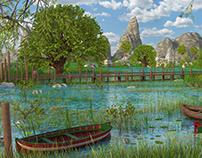 Fantasy Swamp LAKE