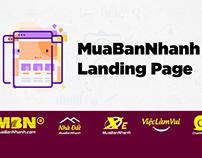 MuaBanNhanh Landing Page là gì?