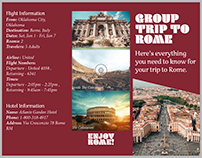 Group Trip to Rome