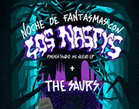 Los Nastys + The Saurs Madrid and Barcelona