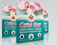 Cake Flyer Template Vol.6