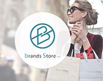 brands store Logo Design