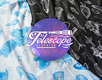 """Discovery Tee"" All over pattern design"
