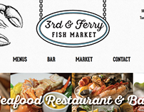 3rd & Ferry Fish Market Website Redesign