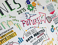 GE Minds & Machines / Graphic Facilitation
