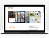 Web Design for Extend a Space building company