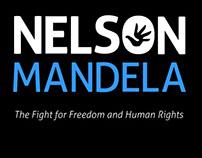 magazine ad - biography of Nelson Mandela