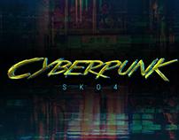 Cyberpunk Text Mockup