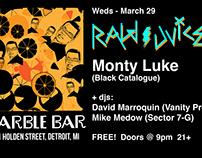Marble Bar flyer