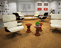 Charles Ray and Eames gallery