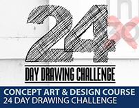 Concept Art Course- INKtober