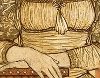 Renaissance lady.