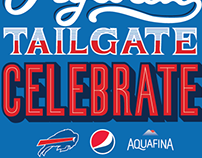 Hydrate, Tailgate, Celebrate - Pepsi & Buffalo Bills