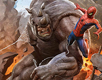 Spider-Man vs Rhino