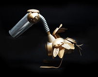 Upcycle: Metal Pelican