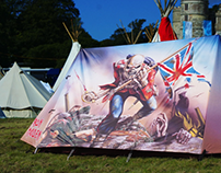 FieldCandy Iron Maiden & Honey Monster tents