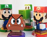 Mario & Luigi Paper Jam Papercraft Premium