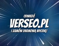 Verseo (Comic Ad)