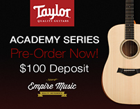 Taylor Guitar Ads