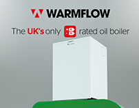 Warmflow - Photo Realistic Combi Boiler Mockup