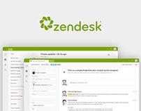 Zendesk Agent UI Update & Design System