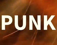 PUNK; RCAD Motion Design title sequence