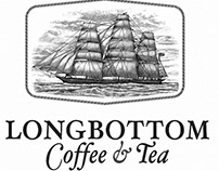 Longbottom Coffee & tea Logomark by Steven Noble