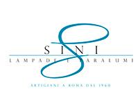 SINI Roma Lampade e Paralumi | restyling logo