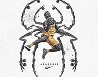 """""""Arachnid"""" Donovan Mitchell"""