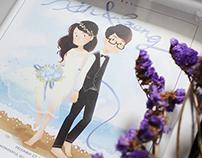 Friend's Wedding Gift. In 2014.