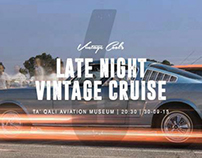 Late Night Vintage Cruise