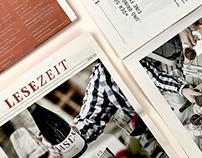 LESEZEIT — ein Magazin für das Weingut Wasem