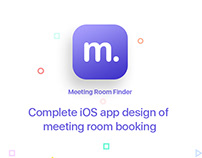 Meeting Room Booking - iOS App Design Concept