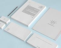 Diseño de papelería corporativa para inmobiliaria