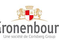 KRONENBOURG, new logo