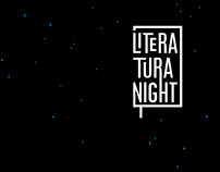 Poster for Literatura night