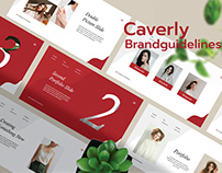 Caverly - Branding Guidelines Presentation Template