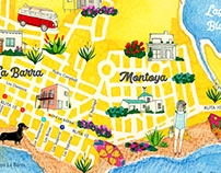 Mapa La Barra - Manantiales 2018