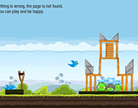 Daily UX Day 10 (Twitter 404 page)