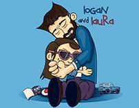 logan and laura: A Logan/Calvin and Hobbes Parody