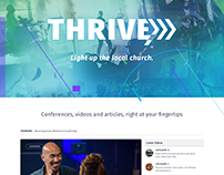 Thrive Conferences Website