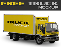 Free Mock-Up Truck Cargo