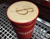 Impressão na espuma Brahma Chopp