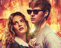 Baby Driver international key art