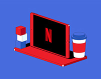 NETFLIX - Illustration
